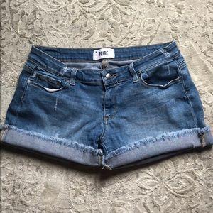 Paige Denim Cut Off Shorts Size 27